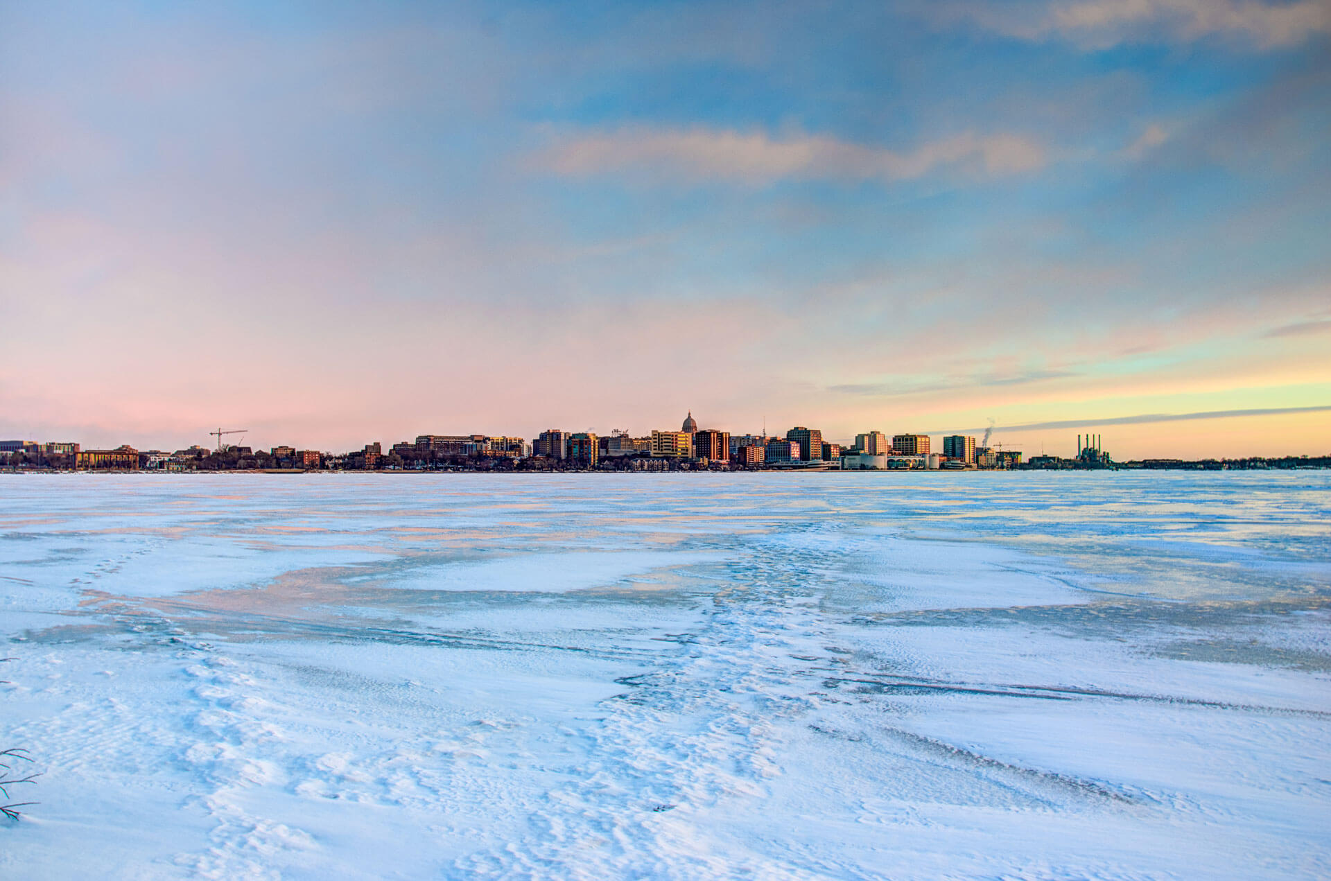 Lake Monona Madison Skyline