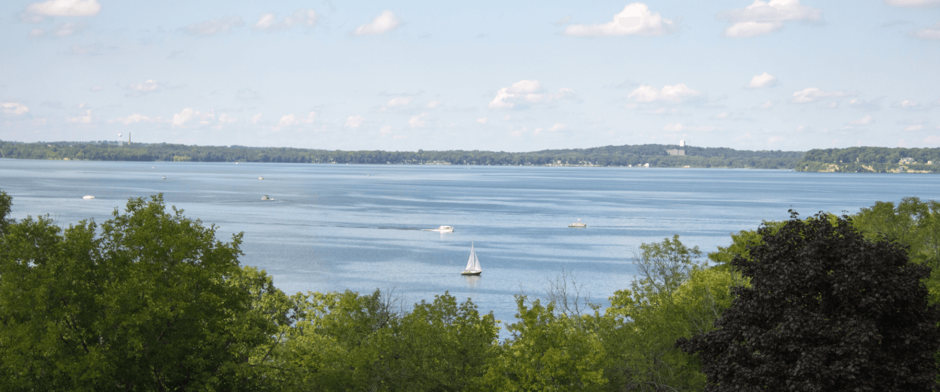 View of Lake Mendota