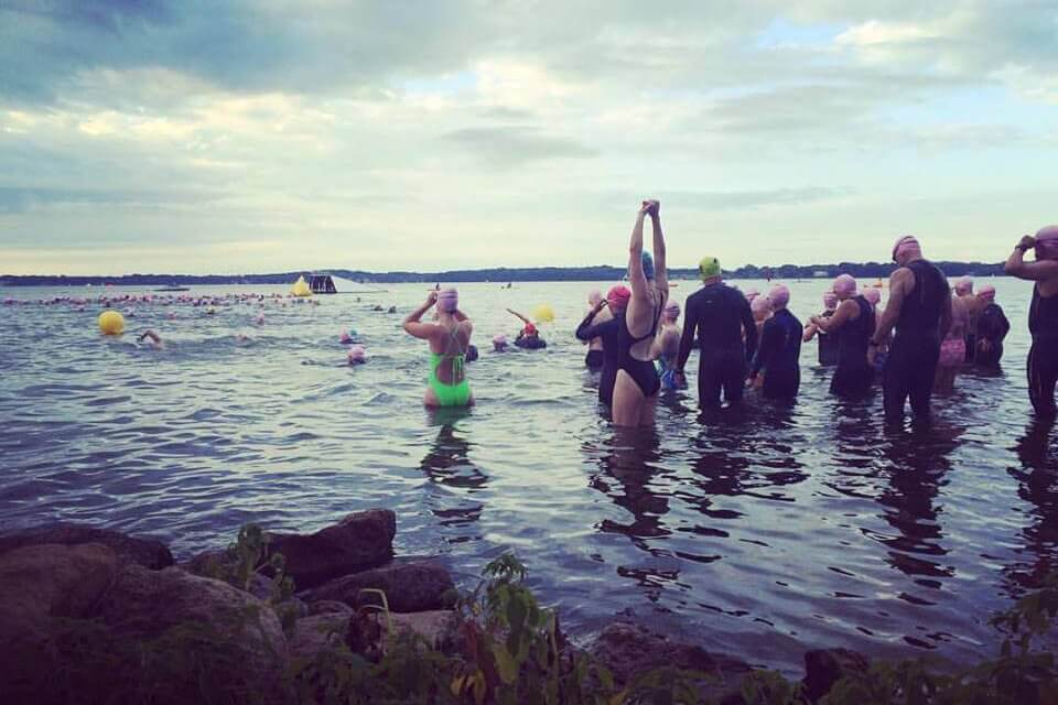 shoreline swim madison s race for healthy lakes clean lakes alliance