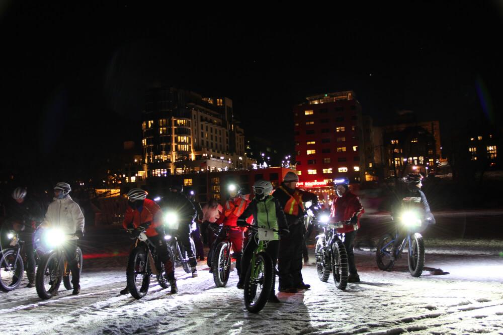 Frozen Assets Fat Bike Race