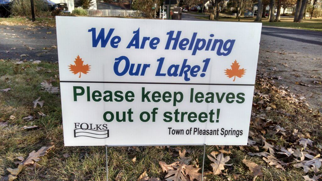 FOLKS Leaf Sign