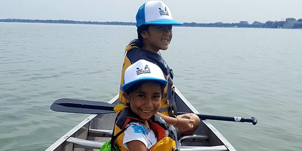 students-on-canoe
