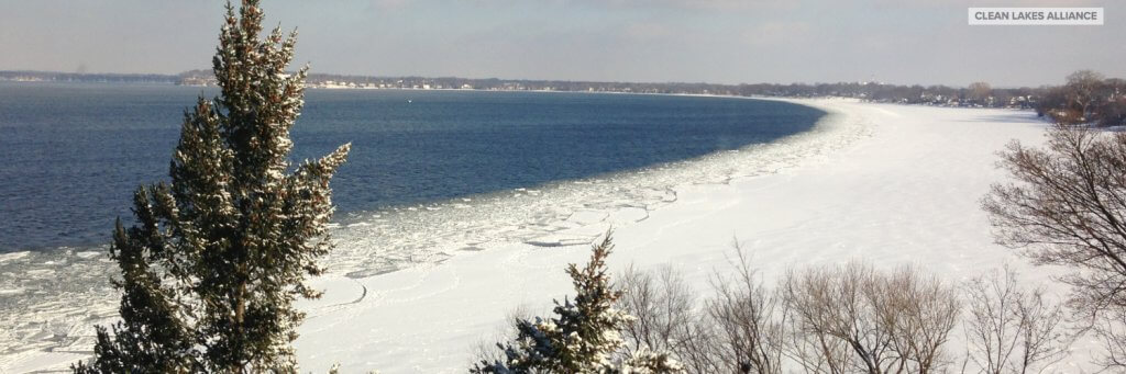 Lake Wingra On Cold December Day This >> Mendota Freeze Contest Clean Lakes Alliance