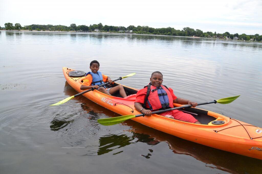 Lake Explorer Camp 2017 Kayak