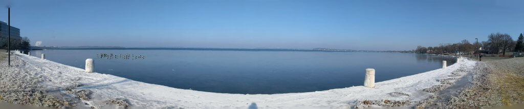 Lake Mendota Ice Panoramic