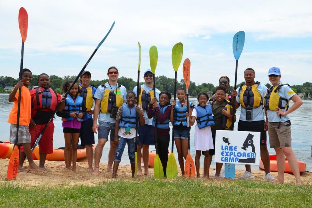 Lake Explorer Camp 2017 Group