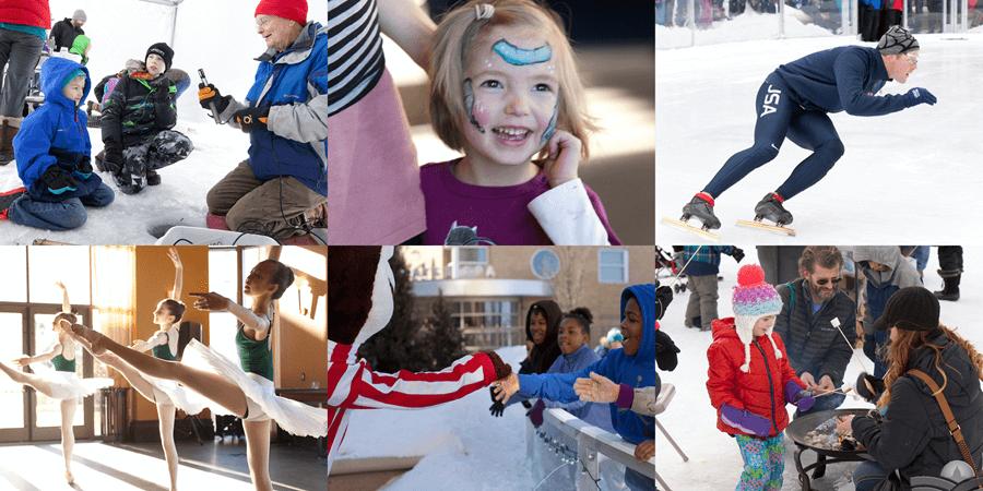 Frozen Assets Collage