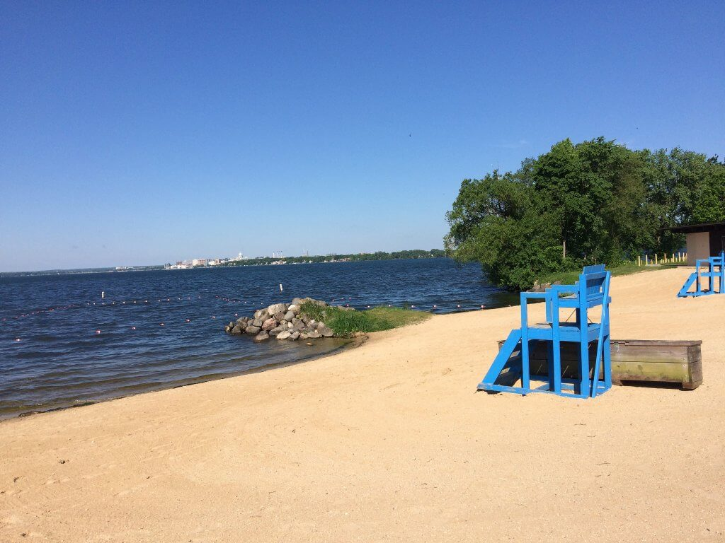 Olbrich Beach Lake Monona
