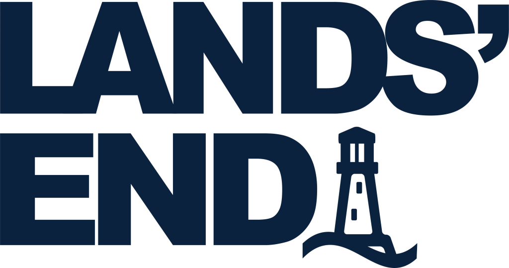 Lands' End Heritage Stacked Logo