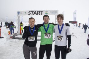 2019 Frozen Assets 5K Men's Medal Winners