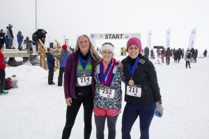 2019 Frozen Assets 5K Women's Medal Winners