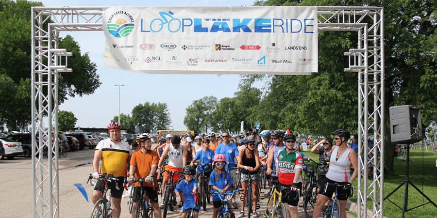 Loop the Lake participants